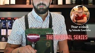 The cocktail series - Pear o'clock by Iolanda Lourinha
