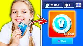 KIDS Who Used MOM'S CREDIT CARD For V-BUCKS On Fortnite!