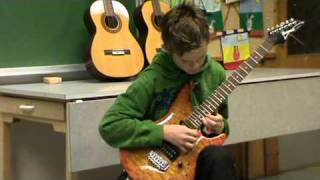 AC/DC - She likes rock' n' roll cover by Johannes