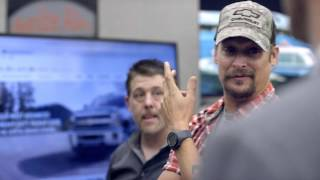 Kid Rock gets custom Chevrolet Silverado 3600 HD, tours Flint plant