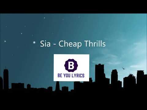 Download thumbnail for Sia Cheap Thrill (Lyrics) - YouTube