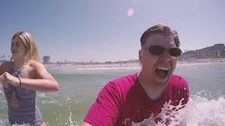 Ocean 1 - Me 0   California day 3ish [NO COPYRIGHT MUSIC]