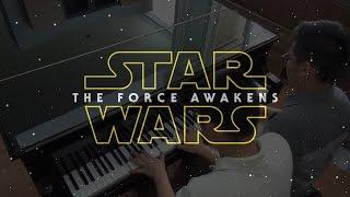 """Star Wars Main Theme"" - John Williams (Four Hands Piano Cover)"