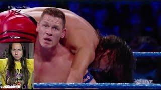 WWE Smackdown 8/1/17 John Cena vs Shinsuke Nakamura