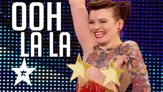 Top 5 Sexiest Auditions On Got Talent width=