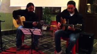 Groove guitar duet - autumn leaves
