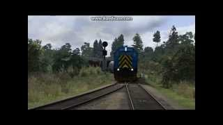 Unstoppable Head-On 777 and 1206 Train Simulator 2014