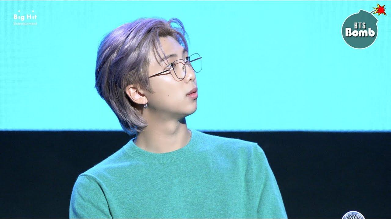 BTS - [BANGTAN BOMB] Which Glasses Should RM Wear? - BTS (방탄소년단)