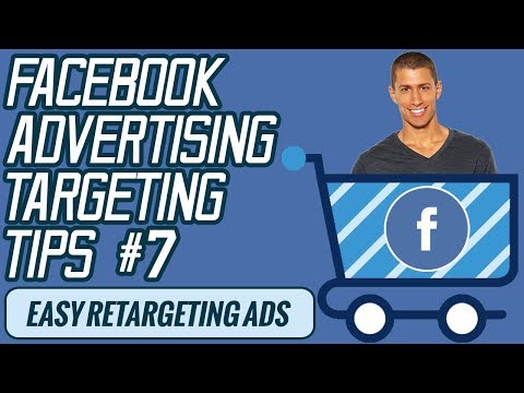 How To Setup Retargeting Ads With Facebook Ads  - Facebook Ads Targeting Tips #7