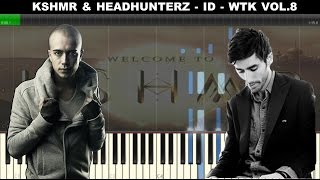 KSHMR & HeadHunterz - ID (DHARMA 2.0) Piano Cover/Remake (KSHMR VOL.8)