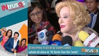 ¡Feliz cumple a Silvia Pinal! | Intrusos
