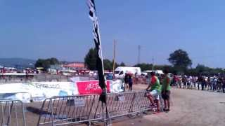 Portagem do Campeonato Nacional de Maratona 2013 em Darque