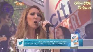 [ACAPELLA MIC FEED] Because You Loved Me (Today Show Live in New York 2016)