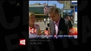 Reporter Superstacji w akcji