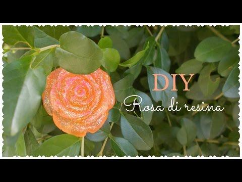 Come creare una rosa di resina fai da te mania for Resina fai da te