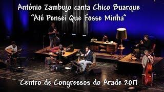 António Zambujo canta Chico Buarque :: Som Direto