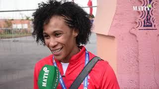 Déclaration de Asmaa Niang avant le début du Grand Prix de judo à Marrakech