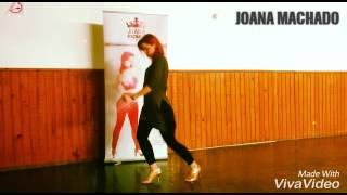 Joana Machado Kizomba Woman Body Movement lady styling ginga Jey V Deixa o mundo falar