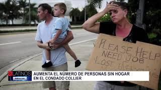 Aumentan los sin hogar en Collier