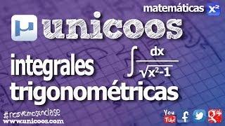 Imagen en miniatura para Integral trigonométrica con cambio de variable secante