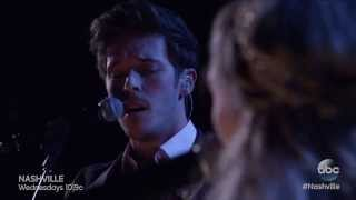 "Sam Palladio and Clare Bowen Sing ""Fade Into You"" - Nashville On The Record"