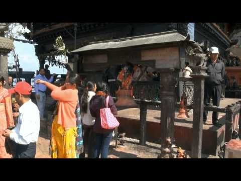 Nepal – świątynia  Manakamana  w  HD