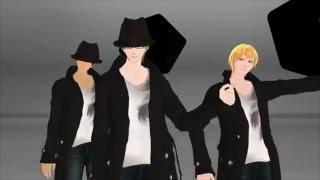 【MMD黒バス】キセキ関東組でMasked bitcH