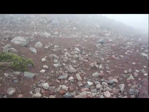 Karlita visitando el Chimborazo (2)