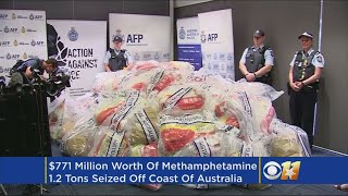 Record Methamphetamine Drug Haul