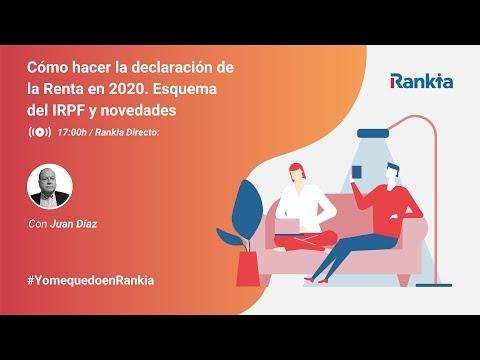 Conoce todos los detalles y novedades de la declaración de la Renta 2019 de la mano de Juan Díaz. Adelántate a la campaña de la Renta que empieza el próximo 1 de abril.
