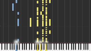 Another Brick In The Wall - Pink Floyd (Easy Piano Tutorial) in Synthesia (100% speed)