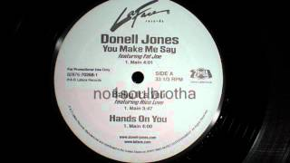 """Donell Jones """"Hands On You"""""""