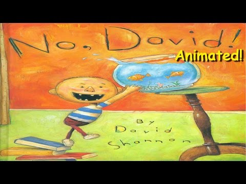 No, David! - Animated Children's Book - YouTube