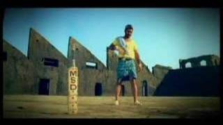 Dhoni advertisement width=