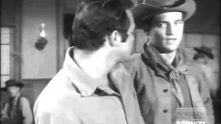 "Burt Reynolds gets into a barroom brawl on ""Gunsmoke"""