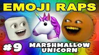 EMOJI RAP #9: Marshmallow's Unicorn Rap!