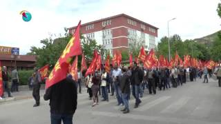 Dersim'de 1 Mayıs Seyit Rıza meydanında kutlandı