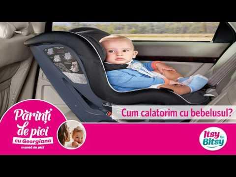 Cum calatorim cu bebelusul?