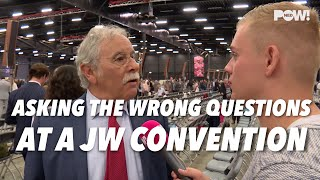 Asking the wrong questions at a JW convention - Cedars' vlog no. 118