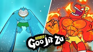 Heroes of Goo Jit Zu   MINI MOVIE CARTOON   Episode 1   TOYS OUT NOW!