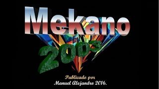 AGACHADITA - MEKANO MAYO 2003 (VHS RIP HQ) ® Manuel Alejandro 2016.