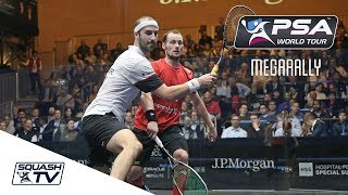 """""""Oh that is CLEVER!"""" - Squash MegaRally - Gaultier v Rösner - ToC 2018"""