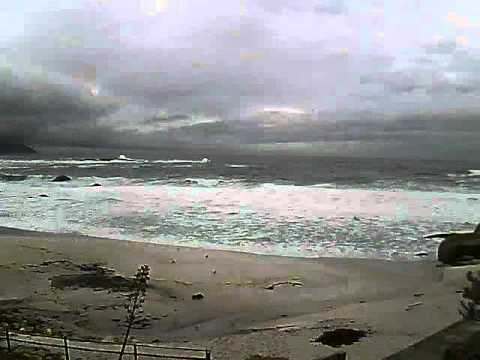 Timelapse Video – Glen Beach – 24/05/2011