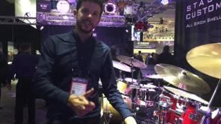 Yamaha Rydeen Acoustic Drum Kit at NAMM 2017