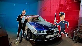 Me cogió la policía con el BMW...