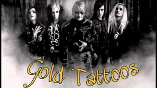 Gold Tattoos- Farewell, my love
