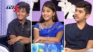 Child Artists Nikhil, Pranavi & Gaurav Chit Chat On Their Movie Journey | TV5 News