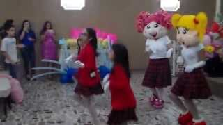 Bruninha e sua Turminha  a Dança do Canguru -Aline Barros.