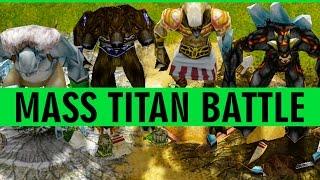 Age of Mythology Extended Edition - EPIC MASS TITAN BATTLE