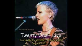 The Cranberries - Twenty One Live at The Point, 1995.avi